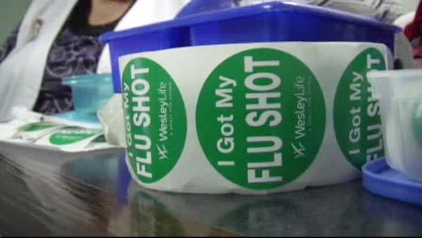 CDC says flu activity picking up in southern states