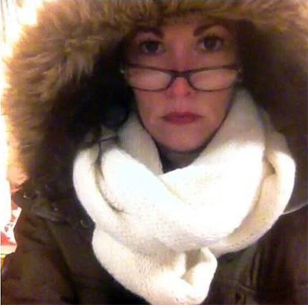 "An Action News viewer posted this #6abcFrozenFaces pic on January 7, 2013: ""Front lobby duty at Delsea Regional High School at 7am!"""