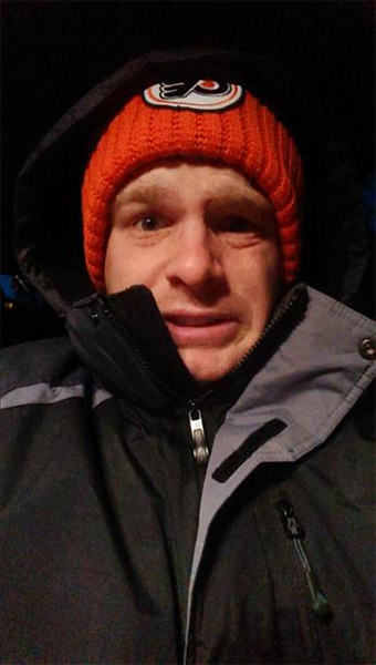 "An Action News viewer posted this #6abcFrozenFaces pic on January 7, 2013: ""Baby it's cold outside..."""