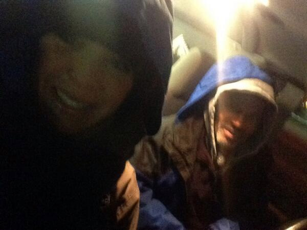 "Action News reporter Annie McCormick posted this #6abcFrozenFaces pic on January 7, 2013: ""Photog Terry Gilmore and I inside after 8 minutes outside... brrrrrr """