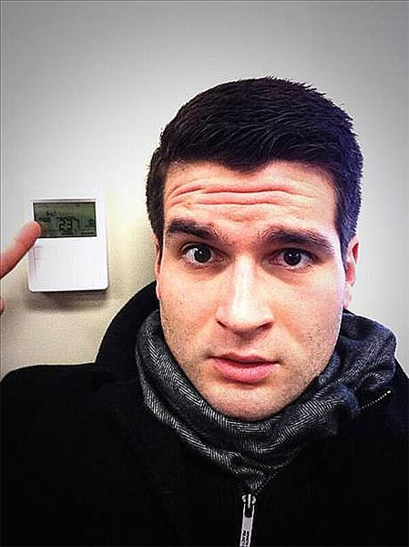 "<div class=""meta ""><span class=""caption-text "">An Action News viewer posted this #6abcFrozenFaces pic on January 7, 2013:  ""@6abc 62 degrees inside my office.""</span></div>"