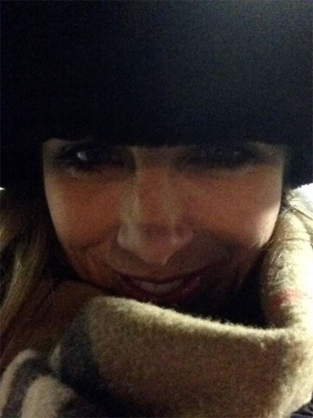 "Action News reporter Katherine Scott posted this #6abcFrozenFaces pic on January 7, 2013:  ""Selfy time! Show us your #6abcfrozenfaces! I'm bundled up in Center City!"""