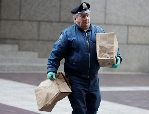 "<div class=""meta ""><span class=""caption-text "">a Philadelphia Police officer with the Crime Scene Unit walk away from the Four Seasons Hotel Tuesday, Jan. 8, 2013, in Philadelphia. Philadelphia police are investigating a possible sexual assault at the upscale hotel, and the Brooklyn Nets say the probe involves one of the team's players. (AP Photo/Matt Rourke)  </span></div>"