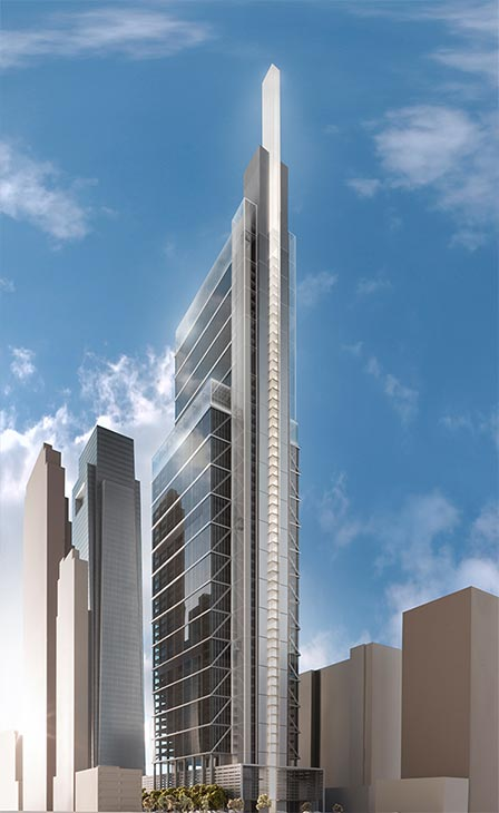 "The proposed ""Comcast Innovation and Technology Center"" will be located on the 1800 block of Arch Street in Center City.  (From http://corporate.comcast.com/)"