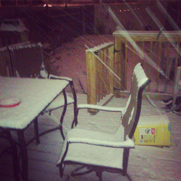 Action News viewer Marybeth tweeted this photo from Tacony on January 21, 2013.