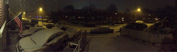 Action News viewer Hazmatt tweeted this photo from Northeast Philadelphia on January 21, 2013.