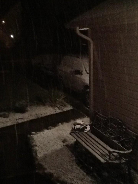 Action News viewer Kate tweeted this photo from Washington Township on January 21, 2013.