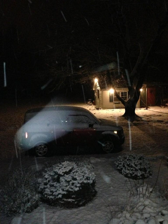 Action News viewer Matthew tweeted this photo from Pedricktown, NJ on January 21, 2013.