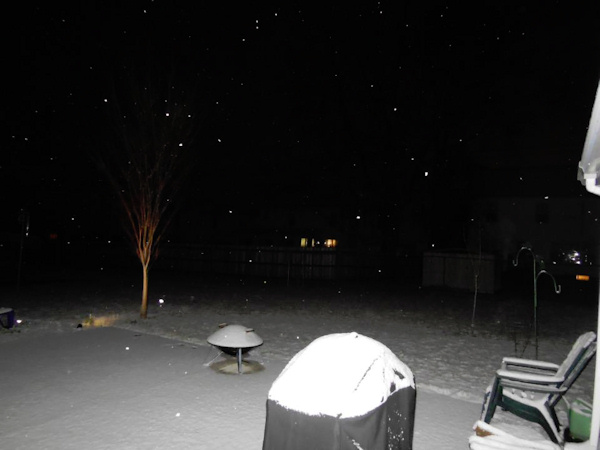 Action News viewer Katie posted this photo on Facebook from Wilmington on January 21, 2013.