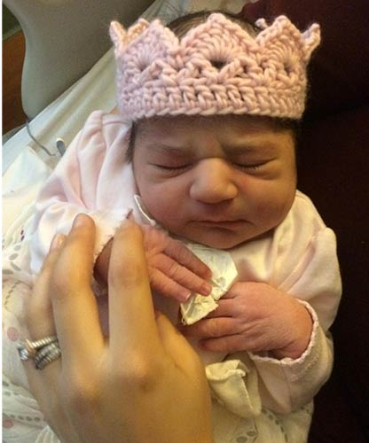 "<div class=""meta ""><span class=""caption-text "">Priscilla Isabelle was born Friday morning, January 24 at 6:12 am, and she weighed in at 7 lbs, 14 oz., and was 21 1/2 inches tall.</span></div>"