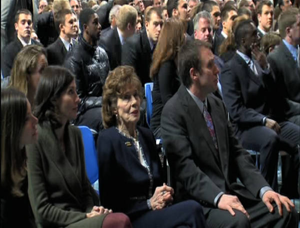"<div class=""meta ""><span class=""caption-text "">Sue Paterno attends the public memorial for her husband, Joe Paterno, at Penn State's Bryce Jordan Center, January 26, 2012</span></div>"
