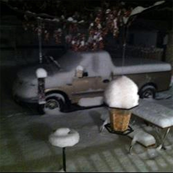 "<div class=""meta ""><span class=""caption-text "">January 29, 2014: An Action News viewer captured this scene at Shady Pines Campground in Galloway, N.J.</span></div>"