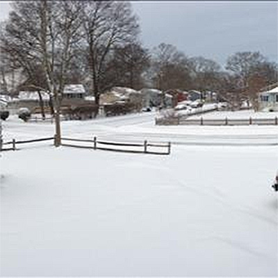 January 29, 2014: An Action News viewer captured this scene of snow in North Cape May, N.J.