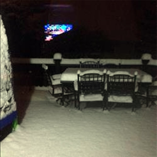 January 29, 2014: An Action News viewer captured this scene in Northfield, N.J.
