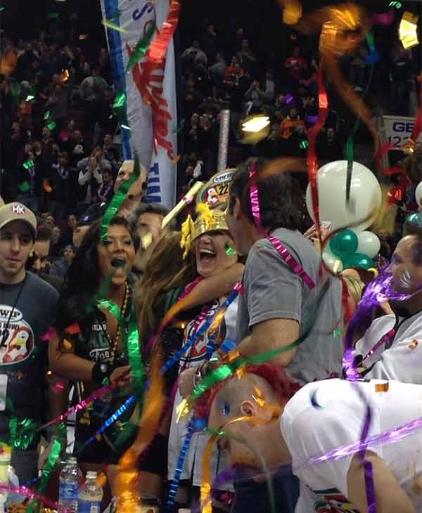 From Katherine Scott (@KScott6abc):  Molly Schuyler ate 363 wings to win Wing Bowl 22!