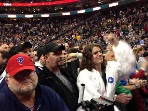 Pictures from WIP Wing Bowl 21 at the Wells Fargo Center in South Philadelphia.