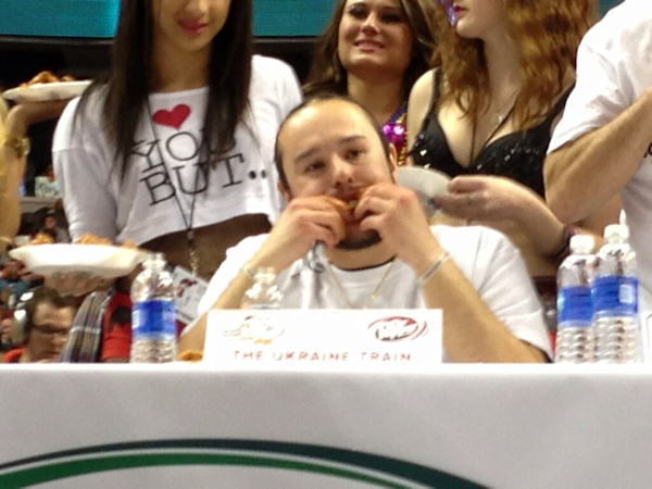 Pictures from Wing Bowl 21 in Philadelphia