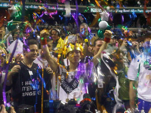 Kobayashi wins Wing Bowl 20. Final tally: 337 wings