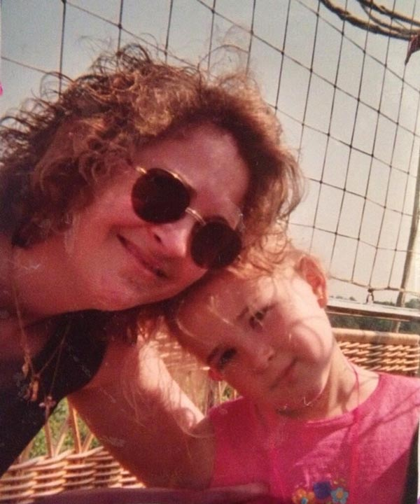 Me and mom in the zoo balloon back in the day #ripzooballoon #6abczooballoon - Bailey King