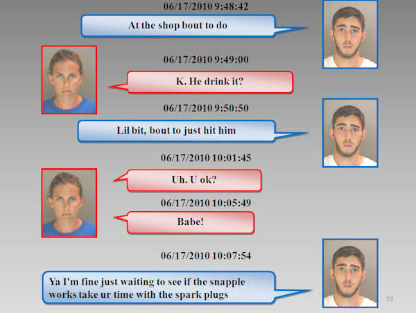 "<div class=""meta ""><span class=""caption-text "">The Chester County District Attorney's Office released the text messages between Morgan Mengel and Stephen Shappell as they plotted and carried out the murder of Morgan's husband, Kevin Mengel.  Both have pled guilty in this case.</span></div>"