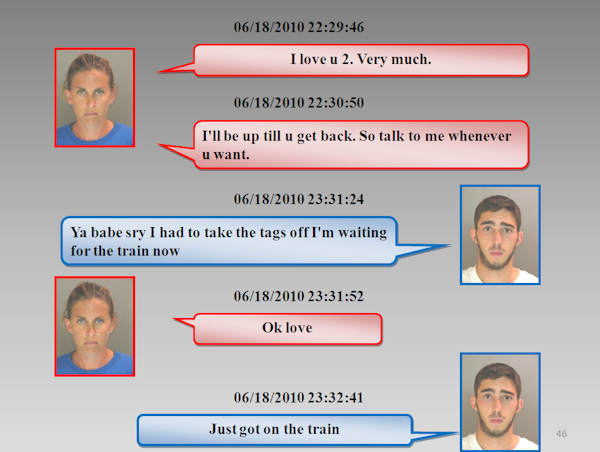 "<div class=""meta image-caption""><div class=""origin-logo origin-image ""><span></span></div><span class=""caption-text"">The Chester County District Attorney's Office released the text messages between Morgan Mengel and Stephen Shappell as they plotted and carried out the murder of Morgan's husband, Kevin Mengel.  Both have pled guilty in this case.</span></div>"