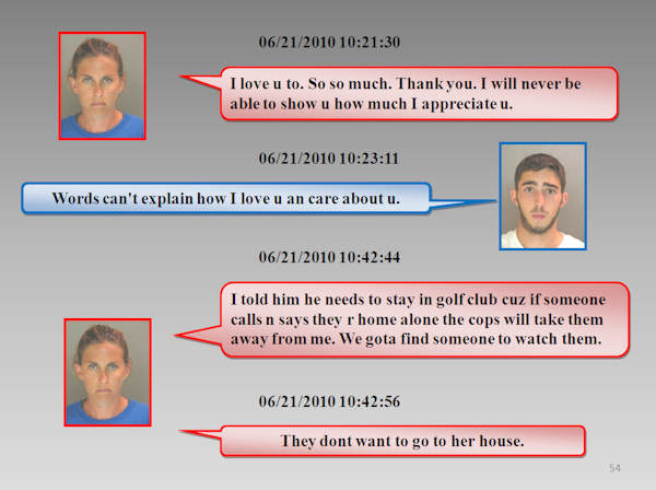 "<div class=""meta ""><span class=""caption-text "">The Chester County Prosecutor's Office released the text messages between Morgan Mengel and Stephen Shappell as they plotted and carried out the murder of Morgan's husband, Kevin Mengel.</span></div>"