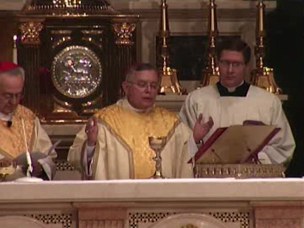 A funeral Mass for the former spiritual leader of Philadelphia's 1.5 million Catholics was held Tuesday afternoon February 7, 2012 at the Cathedral Basilica of Saints Peter and Paul in Philadelphia.