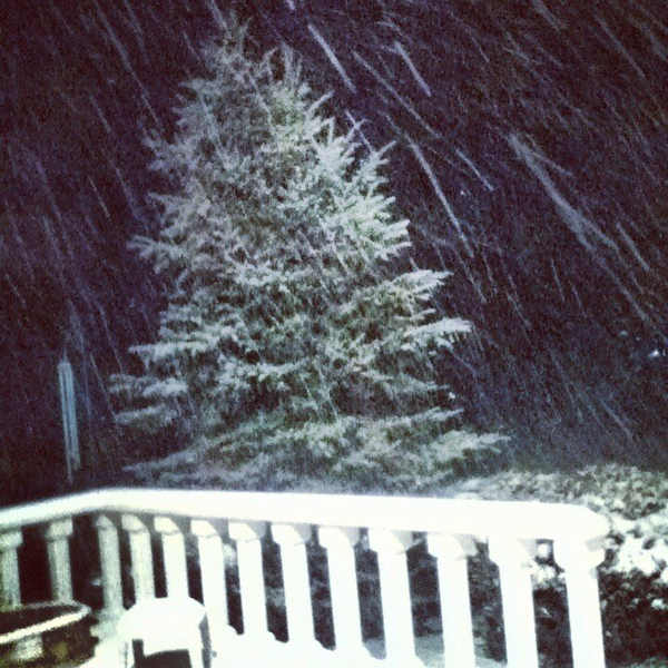 February 8, 2013: The view from Jim Thorpe, Pa.  <span class=meta>(From @JerseyGurl1969 #6abcnoreaster)</span>