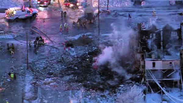 "<div class=""meta image-caption""><div class=""origin-logo origin-image ""><span></span></div><span class=""caption-text"">Daytime pictures taken from Chopper 6 show the full extent of the devastating blast that rocked N. 13th and West Allen Streets in Allentown late Wednesday night. (WFMZ)</span></div>"