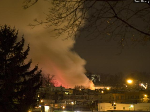 "<div class=""meta ""><span class=""caption-text "">Viewer photos of the explosion in Allentown on February 9, 2011. (WFMZ)</span></div>"