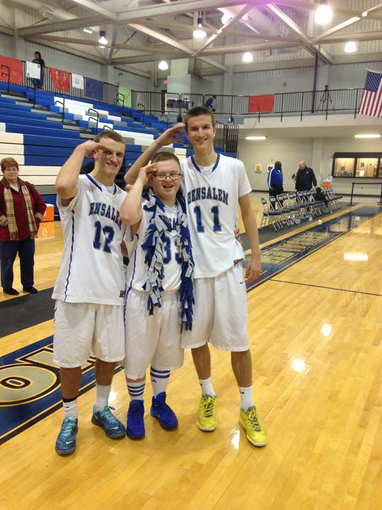 "<div class=""meta ""><span class=""caption-text "">Bensalem High School's Kevin Grow was born with Down syndrome, but that has not stopped the 18-year-old from becoming a basketball star. (WPVI Photo)</span></div>"