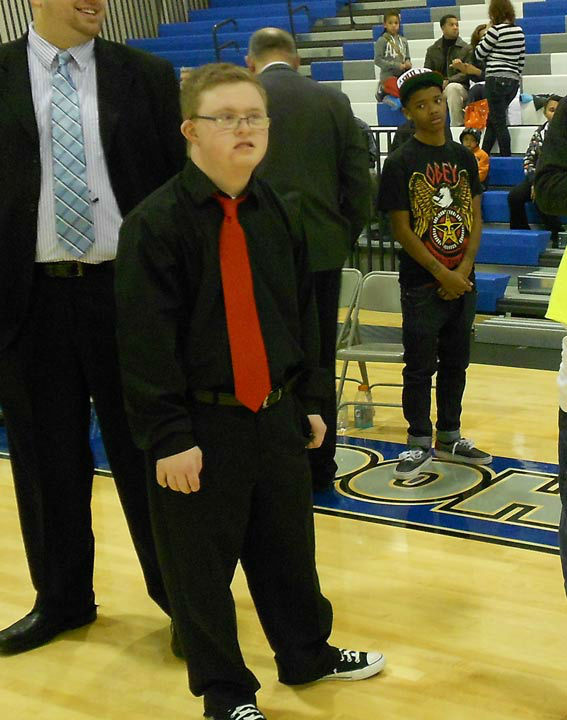 Bensalem High School&#39;s Kevin Grow was born with Down syndrome, but that has not stopped the 18-year-old from becoming a basketball star. <span class=meta>(WPVI Photo)</span>
