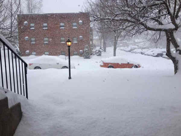 The view from Royersford! It&#39;s too much! #6absnow  <span class=meta>(Vicki, Royersford, PA )</span>