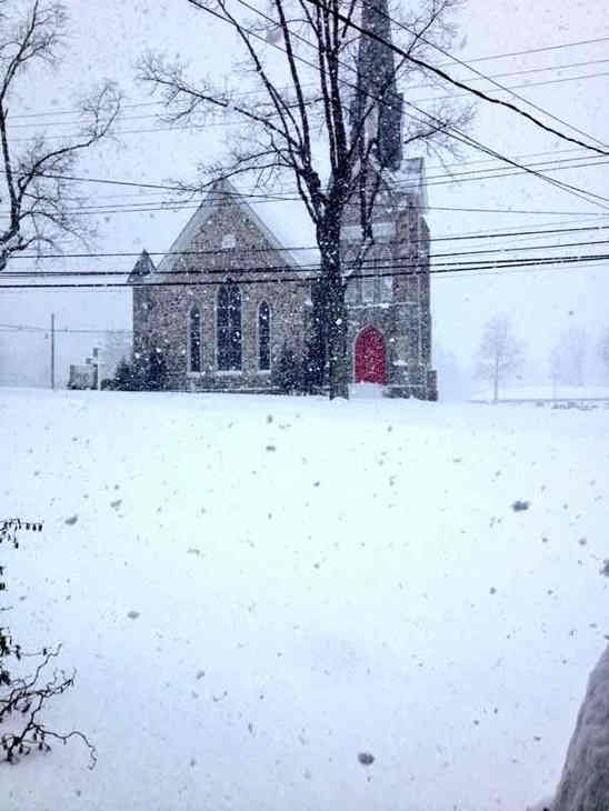 "<div class=""meta ""><span class=""caption-text "">Like snowballs falling from the sky #6abcsnow  (Amanda, Glenmoore, Pa. )</span></div>"
