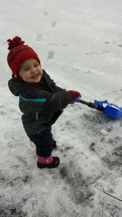 Little helper #6abcsnow  <span class=meta>(Christine, Delaware County )</span>