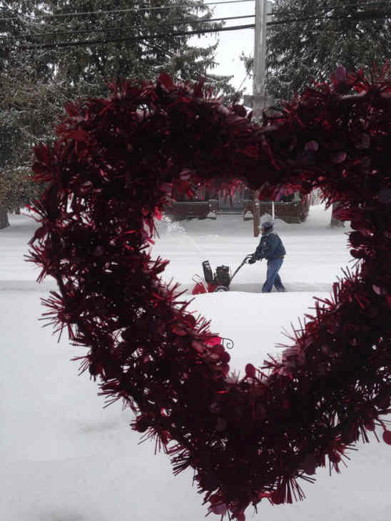 Happy Valentine&#39;s Day from Lititz <span class=meta>(Karen, Lititz, Pa.)</span>