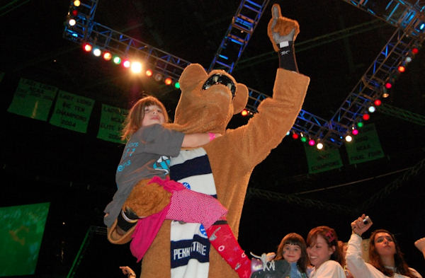Pictures from the 2011 The Penn State IFC/Panhellenic Dance Marathon, known as THON.  Photo Courtesy: Thon.org/Photobase