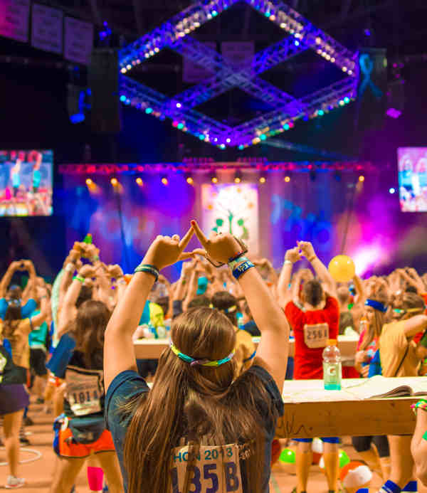 Pictures from the 2013 The Penn State IFC&#47;Panhellenic Dance Marathon, known as THON. <span class=meta>(Parker Nevenglosky)</span>