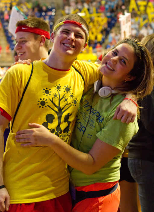 "<div class=""meta image-caption""><div class=""origin-logo origin-image ""><span></span></div><span class=""caption-text"">Pictures from the 2013 The Penn State IFC/Panhellenic Dance Marathon, known as THON. (Savannah Renee Smith)</span></div>"
