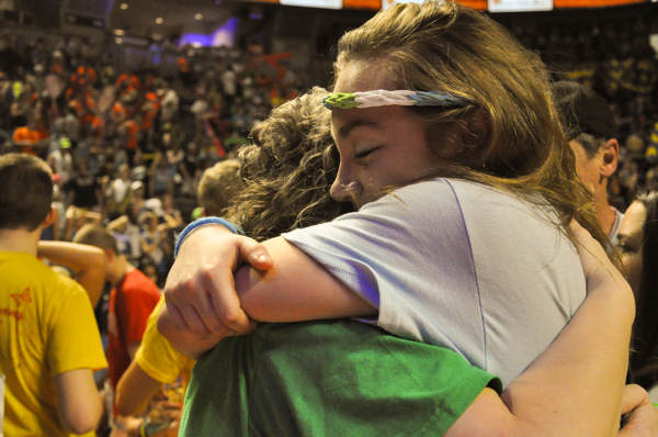 Pictures from the 2013 The Penn State IFC&#47;Panhellenic Dance Marathon, known as THON. <span class=meta>(Emily Leiden)</span>