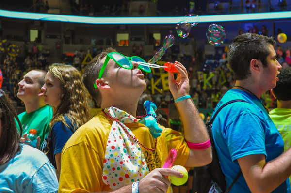 "<div class=""meta ""><span class=""caption-text "">Pictures from the 2013 The Penn State IFC/Panhellenic Dance Marathon, known as THON. (Allison Ranslow)</span></div>"