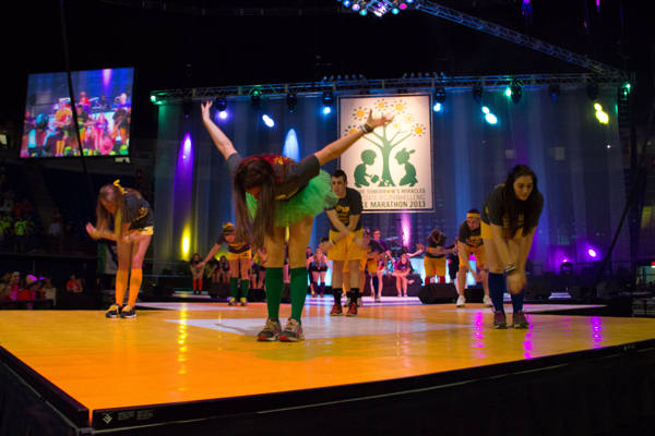 "<div class=""meta image-caption""><div class=""origin-logo origin-image ""><span></span></div><span class=""caption-text"">Pictures from the 2013 The Penn State IFC/Panhellenic Dance Marathon, known as THON. (Bryan Tan)</span></div>"