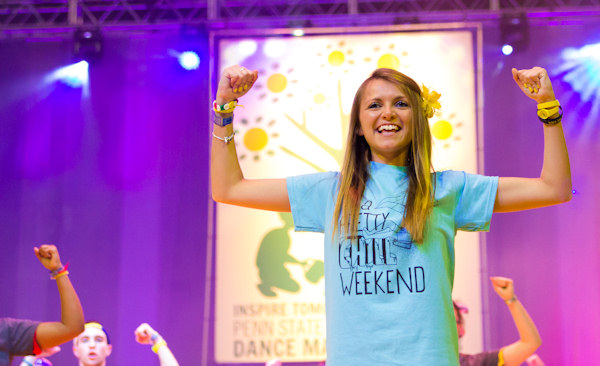 Pictures from the 2013 The Penn State IFC/Panhellenic Dance Marathon, known as THON.