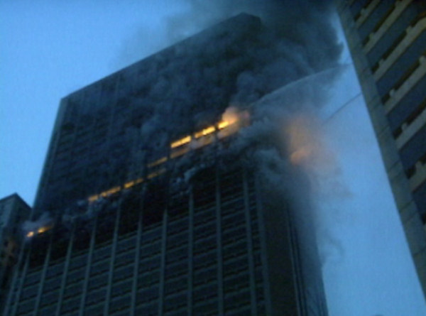 Action News was on the scene of the One Meridian Plaza fire in Center City as the building continued to burn on Sunday, February 24, 1991.
