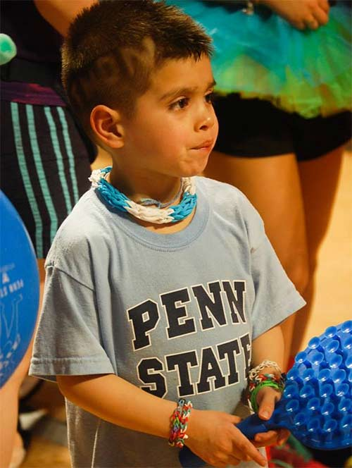 "<div class=""meta ""><span class=""caption-text "">THON is the largest student-run charity in the world and has raised more than $101 million for the Four Diamonds Fund at Penn State Hershey Children's Hospital. </span></div>"