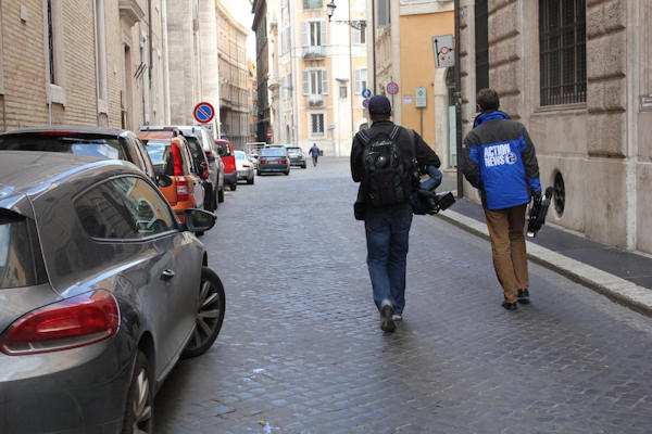 Sunday, March 3, 2013: Another sight captured by Action News' Brian Taff and his crew in Rome.  They are on assignment, covering the selection of the next pope.