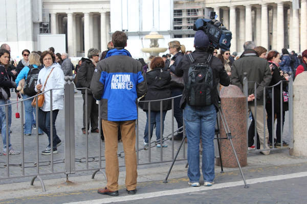 "<div class=""meta ""><span class=""caption-text "">Sunday, March 3, 2013: Another sight captured by Action News' Brian Taff and his crew in Rome.  They are on assignment, covering the selection of the next pope.</span></div>"
