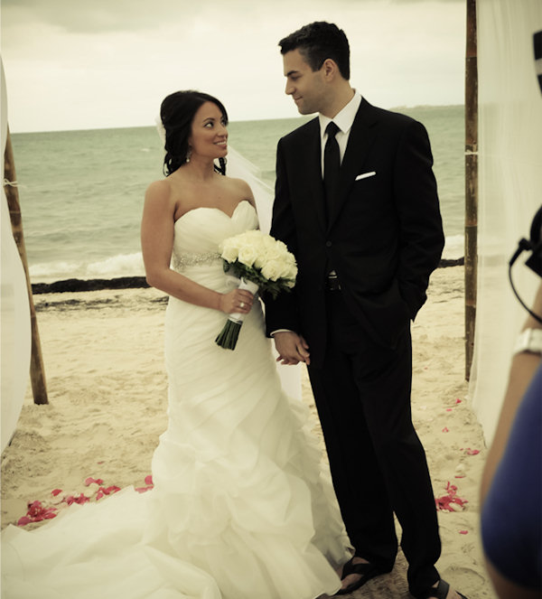 Jeff and Mandy Skversky were married in Mexico on Friday, March 1, 2013.