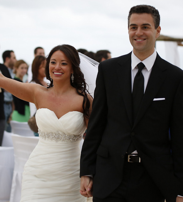 Jeff Skversky gets married