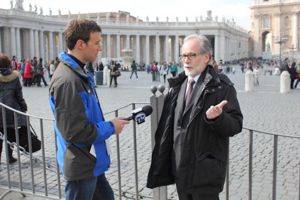 Tuesday, March 5, 2013: Another sight captured by Action News' Brian Taff and his crew in Rome.  They are on assignment, covering the selection of the next pope.